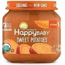 Happy Baby Sweet Potatoes Baby Food, 4 oz.