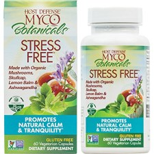 Fungi Perfecti Host Defense Stress Free, 60 vegetarian capsules