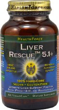 Health Force Nutritionals Liver Rescue, 120 vegan capsules