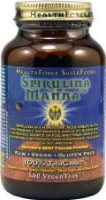 Health Force Nutritionals Spirulina Manna, 500 vegan tablets