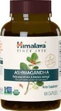 Himalaya Organic Ashwaganda, 30 vegetarian capsules