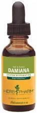 Herb Pharm Leaf & Flower Damiana Extract, 1 oz.
