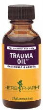 Herb Pharm Trauma Oil Compound 1 oz