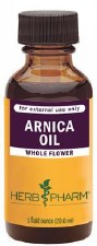 Herb Pharm Whole Flower Arnica Oil, 1 oz.