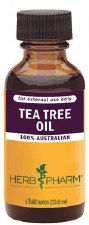 Herb Pharm 100% Australian Tea Tree Essential Oil, 1 oz.