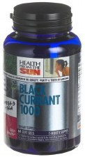 Health from the Sun Black Currant Oil, 1000mg, 60 capsules