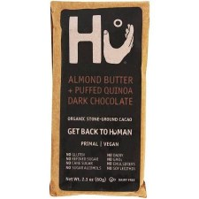 HU Chocolate Almond Butter Paleo Chocolate, 2.1 oz.
