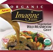 Imagine Foods Organic Vegetarian Wild Mushroom Gravy, 13.5 oz.