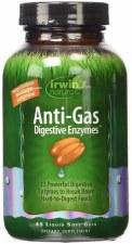 Irwin Naturals Anti-Gas Digestive Enzymes, 45 liquid soft gels