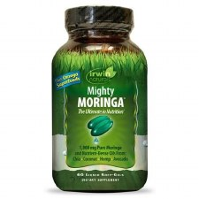 Irwin Naturals Mighty Moringa, 60 liquid soft gels