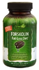 Irwin Naturals Forskolin Fat-Loss Diet, 60 liquid soft gels