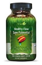 Irwin Naturals Healthy Flow Saw Palmetto, 60 liquid soft gels