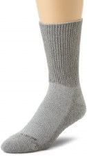 Incrediwear Merino Wool & Bamboo Charcoal  Crew Socks, M