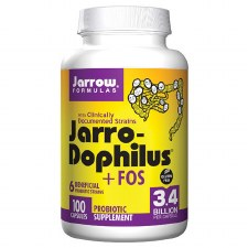 Jarrow Formulas Jarro-Dophilus + FOS, 100 capsules