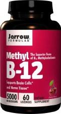 Jarrow Formulas Methyl B-12, 5000mcg, 60 lozenges