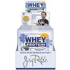 Jay Robb Vanilla Whey Protein, 30 gram single serving