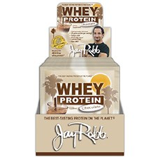 Jay Robb Chocolate Whey Protein, 30 gram single serving