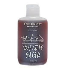 Juniper Ridge White Sage Body Wash, 2 oz.