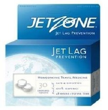 JetZone Jet Lag Prevention, 30 chewable tablets