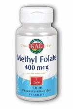 KAL Methyl Folate 400 mcg, 90 tablets