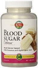 KAL Blood Sugar Defense, 60 tablets