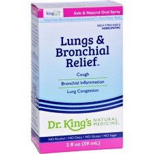 King Bio Lungs & Bronchial Relief, 2 fl. oz.