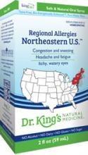 King Bio Regional Allergies: Northeastern U.S., 2 oz.