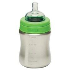 Klean Kanteen Stainless Steel Medium Flow Baby Bottle, 9 oz.