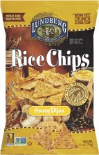 Lundberg Honey Dijon Rice Chips, 6 oz.
