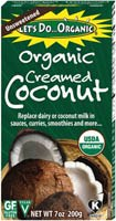 Let's Do Organics Organic Creamed Coconut, 7 oz.