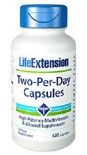 Life Extension Two Per Day Multivitamin, 120 capsules