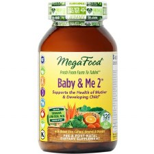 MegaFood Baby & Me 2, 60 tablets