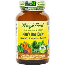 MegaFood Men's One Daily, 60 tablets