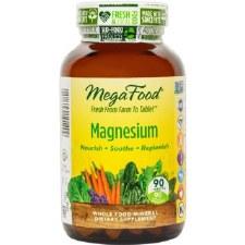 MegaFood Magnesium, 90 tablets