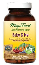 MegaFood Baby & Me, 120 tablets