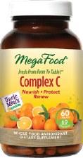 MegaFood Complex C, 60 tablets