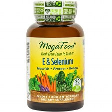 MegaFood E & Selenium, 30 tablets