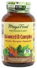 MegaFood Balanced B Complex, 90 tablets