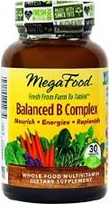 MegaFood Balanced B Complex, 30 tablets