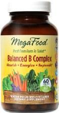 MegaFood Balanced B Complex, 60 tablets