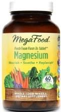 MegaFood Magnesium, 60 tablets