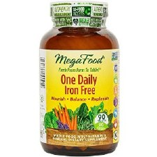 MegaFood One Daily Iron Free, 90 tablets