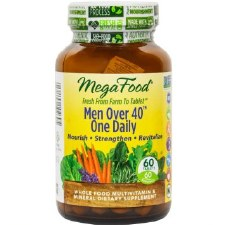 MegaFood Men Over 40 One Daily, 60 tablets