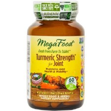 MegaFood Turmeric Strength for Joint, 60 tablets