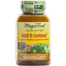 MegaFood Adult B-Centered, 60 tablets