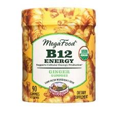 MegaFood Ginger B12 Energy Gummies, 90 gummies