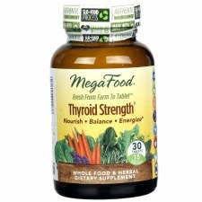 MegaFood Thyroid Strength, 30 tablets