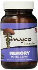 Myco Formulas Memory, 90 vegetarian capsules