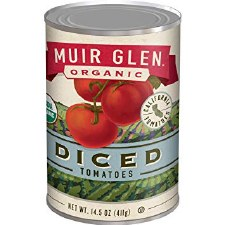 Muir Glen Organic Diced Tomatoes, 14.5 oz.