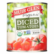Muir Glen Organic Diced Tomatoes, 28 oz.